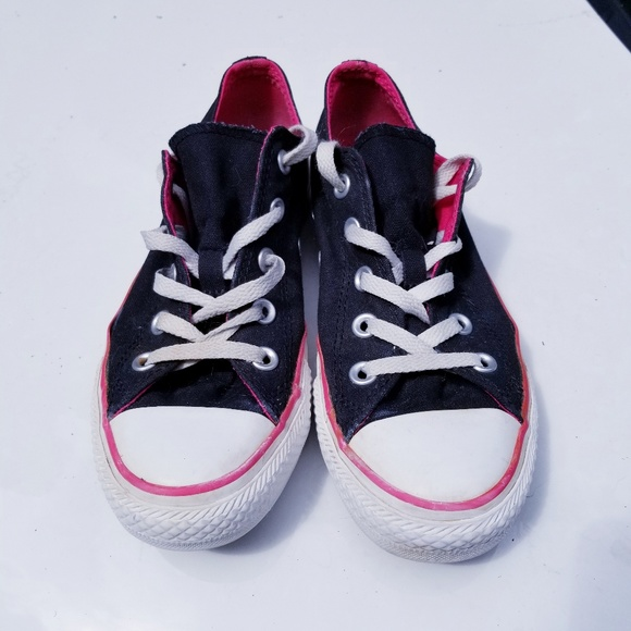 Converse Shoes - Converse all star double tongue black sneakers 6 4c2ed0f2a